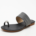 Сандалии на плоской подошве, удобные и мягкие сандалии 2021, повседневные и модные Универсальные пляжные тапочки, женская обувь XM088