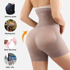 Image 5 - Yumdo cintura alta sexy bunda levantador calcinha de controle feminino barriga recuperação compressão bunda levantador emagrecimento underwear pós parto