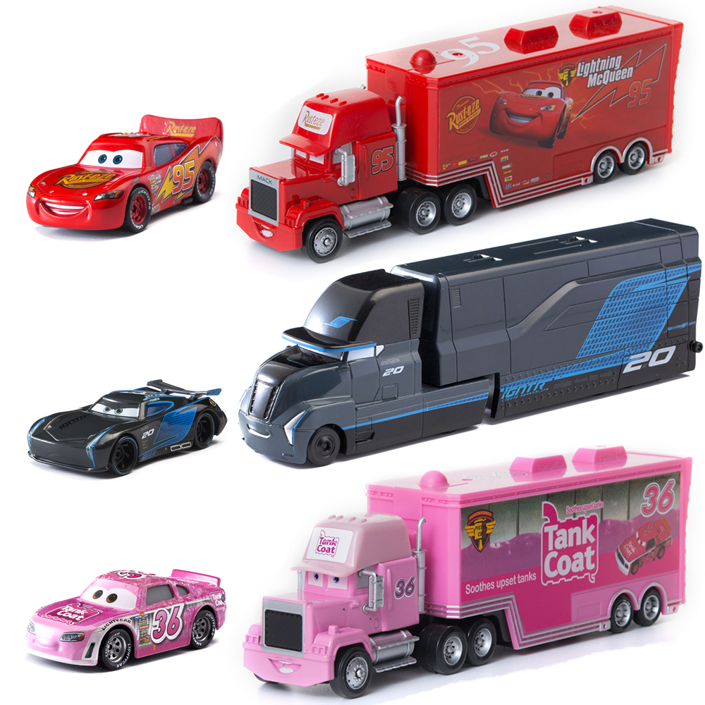 39 Style Disney Pixar Cars 2 Toys Lightning Mcqueen Mack Uncle Truck Jackson Storm Mater 1 55 Diecast Metal Alloy Car Toy Diecasts Toy Vehicles Aliexpress
