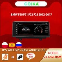 Radio Multimedia estéreo con Android 10,0 para coche, Radio con navegador Navi, Android 2012, WIFI, Google, BT, GPS para coche, 2 + 32G, F20 para BMW, F21, F22, F23, 2006-2012