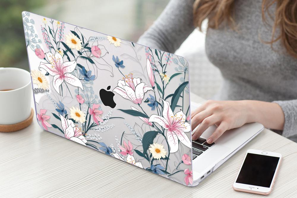 Floral Case for MacBook 165