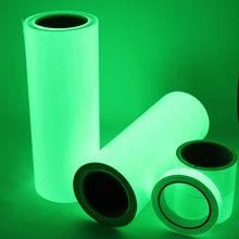 Hohe Qualität 10M PET Luminous Band Glow In The Dark Selbst-adhesive Wand Dekor Aufkleber Acryl Fluorescent Party home Dekorationen
