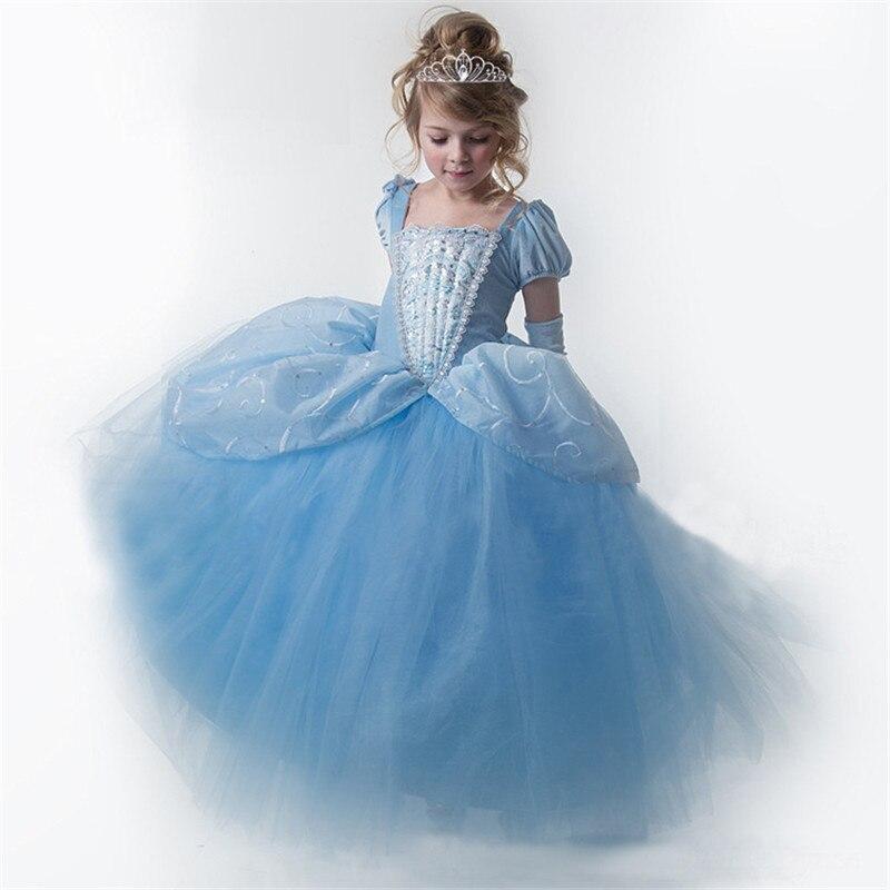 Fantaisie princesse filles Halloween Cosplay habiller Costume enfants robes de fête de noël pour les filles deguisement enfant fille pour 10T