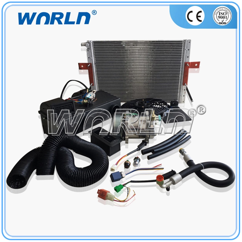Auto AC Air Conditioning Assembly 24 Volts Truck Excavator Harvester Evaporator Refrigeration Accessories 508 Unit Parts image