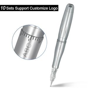 Image 5 - Biomaser máquina para maquillaje permanente profesional, maquillaje para tatuaje de cejas, Microblading, Kit DIY con aguja para máquina de tatuaje
