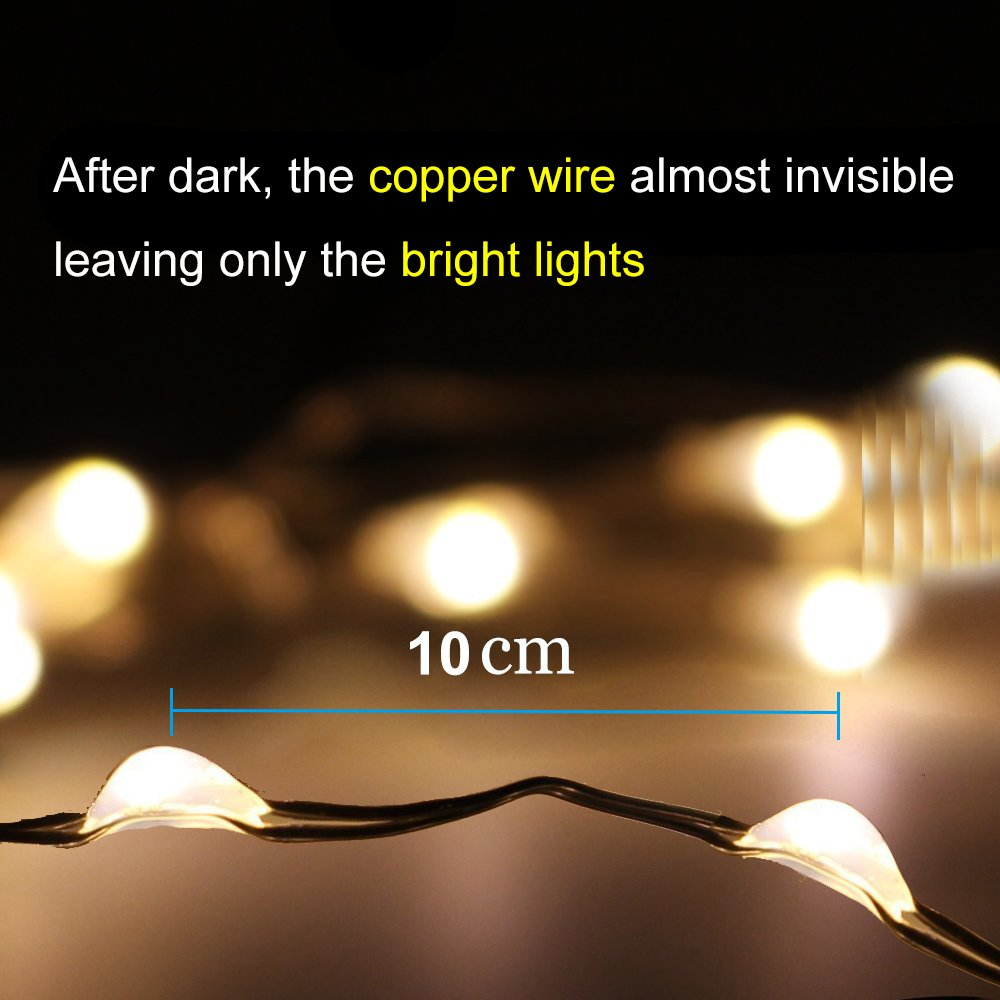 cheapest 22M 200 LED Solar Strip Light Home Garden Copper Wire Light String Fairy Christmas Party Decor Outdoor Solar Powered