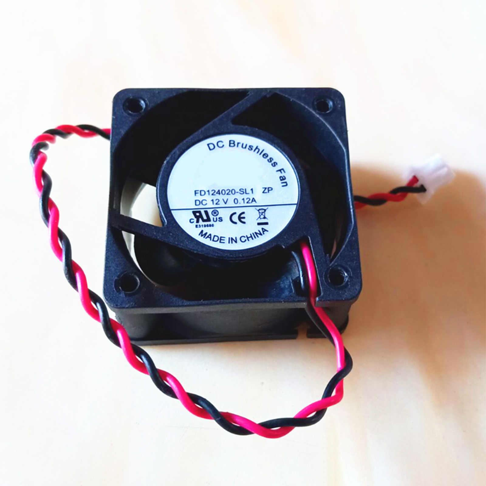 Вентилятор охлаждения FD124020-SL1 ZP для расширение Правлению DC12V 0.12A 2pin 40*40*20 мм