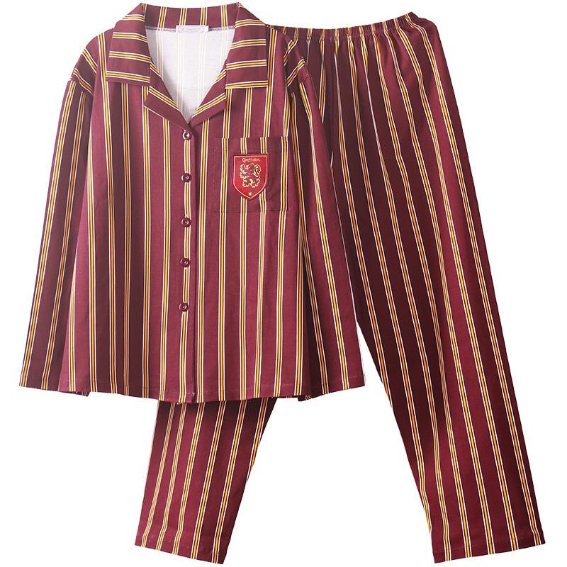 SATCOPY Harri Potter Hermione Hogwarts Gryffindor Slytherin Home Wear Pajamas Winter Pajamas Summer Pajamas For Adult Kid