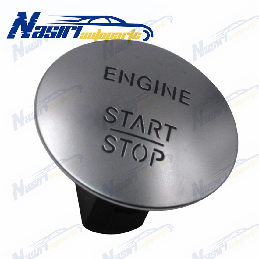 Keyless Go Engine Start Stop Push Button for Mercedes Benz ML GL R S E CL550 CLS350 E350 GL350 GLK350 ML350 S550 SL500 SLK200 image