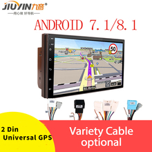 JIUYIN 2Din Android 8.1 Car Radio Touch Screen 7 Inch Multimidia Bluetooth MP5 Player  Autoradio Universal GPS Navigation WIFI