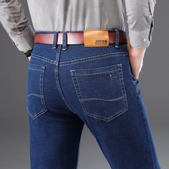 2020 New Skinny Jeans Men Business Casual Stretch  Jeans Men  Slim Classic Trousers Denim Pants Male  Casual Fashion Jeans Men