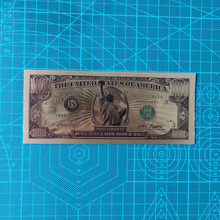 Gold Banknotes Statue of Liberty 1 Million Dollar Bill Banknotes Antique Plated Gold USA Souvenir Home Collection liberty home кофейный столик duval gold