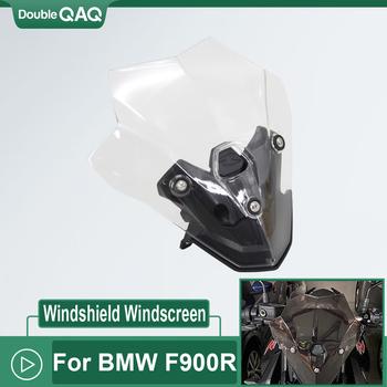 Nowe akcesoria motocyklowe ekran Fairing szyby deflektory deflektory wiatru dla BMW F900R F 900R F900 R 2020 tanie i dobre opinie CN (pochodzenie) 1inch FOR BMW F900R High Quality PC Plastic Obejmuje listew ozdobnych 0 3kg 100 brand new Head Lamp Protector