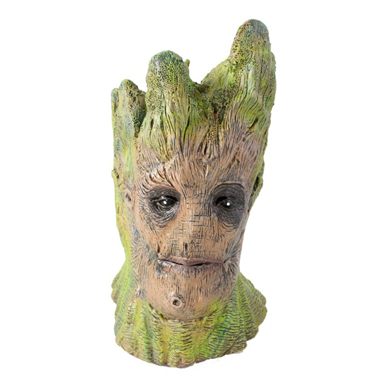Groot Latex Mask Full Face Halloween Horror Magical Dryad Tree Rubber Masks Masquerade Party Costume Cosplay Props Adult Size