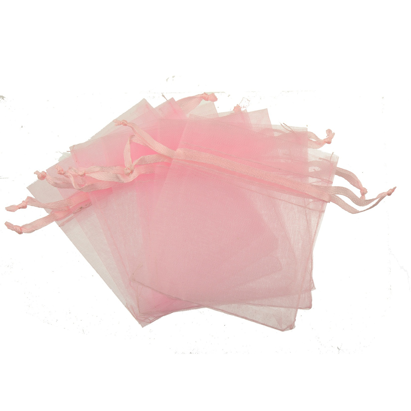 Candy Bags Lucency Organza Drawstring Pink Wholesale Crafts Jewelry Packaging Classic Fine Clear Show Soft Goldfeu Supplier 2020