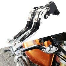 For Kawasaki ER-6n ER 6n ER6n 2009 2010 2011 2012 2013-2016 CNC Adjustable Folding Extendable Brake Clutch Levers Motorcycle цена