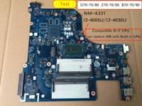 Für Lenovo G70 70 G70 80 B70 80 B70 70 Z70 70 Z70 80 Laptop motherboard AILG NM A331 mit I3 4005/I3 4030 CPU|Motherboards|   -