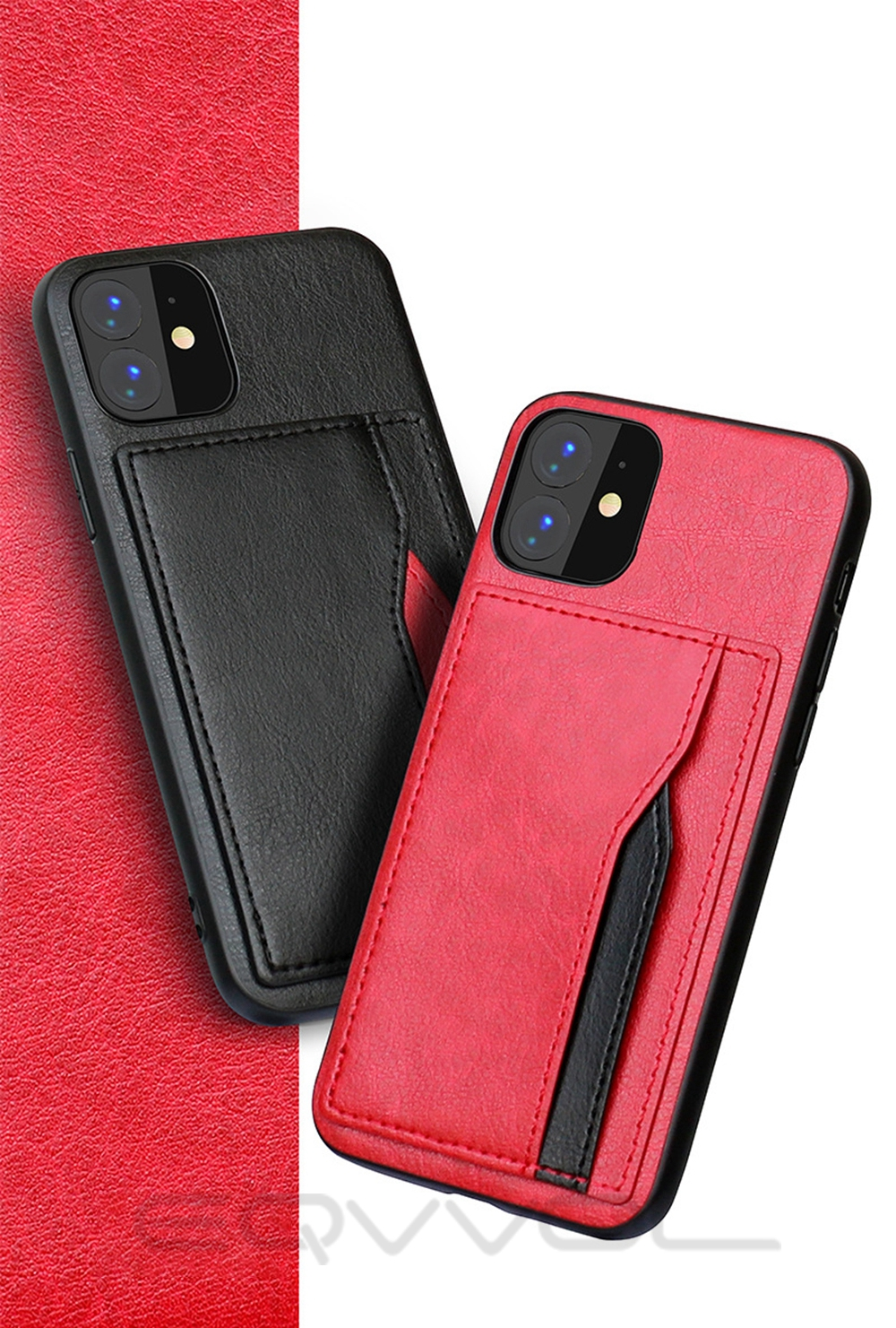 Hdd90a4c18b204bc1a460e9b92f516f2fM Eqvvol Retro PU Leather Case For iPhone 11 Pro MAX 2019 Multi Card Wallet Case For iPhone X XS MAX XR 11 Shockproof Cover Coque