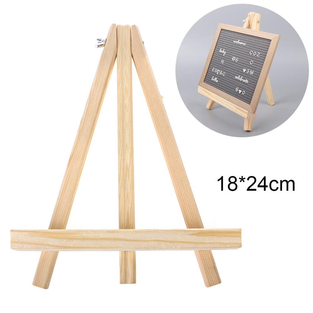 Mini Artist Wooden Easel Wood Wedding Table Card Stand Display Holder For Party Decor 18 x 24 cm