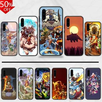 Luxury Avatar The Last Airbender Phone Case For Huawei Honor Mate P 9 10 20 30 40 Pro 10i 7 8 A X Lite Nova 5t image