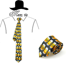 Mens Ties Polyester Printed Suit Formal Dress Casual Party Necktie Cravat Accessories 145CM Length 8CM Width Shirts Design Gift