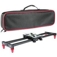 Тележка для камеры из углеродного волокна 15,7 дюйма с 4 роликовыми подшипниками для видеосъемки SP99
