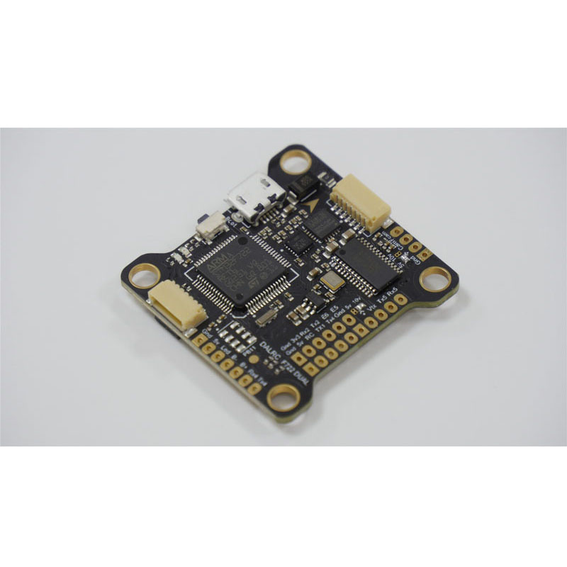 1PCS DALRC F722 Dual Flight Controller with OSD MPU6000 <font><b>ICM20602</b></font> Gyro 3-10S 16MB FC Parts for RC FPV Micro Drone Aircraft image