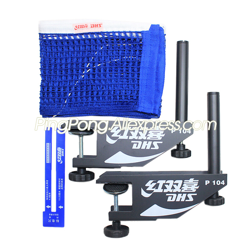 DHS P104 Table Tennis Net & Post Set Original DHS Ping Pong Table Net Replacement Accessories