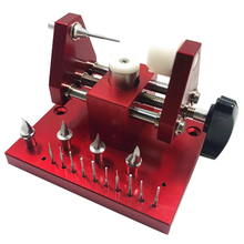 Strapping Machine Equipped 11 SKD61 Punch Pins Watch Case Bottom Cover Machine Open Back Cover Disassembly Table Limit Function