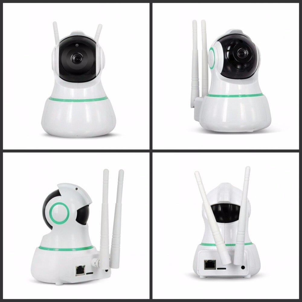 EC31 Wifi IP caméra 1080P 2 voies Audio bébé moniteur sans fil 360 degrés vue panoramique sécurité à domicile Surveillance IR caméscope - 3