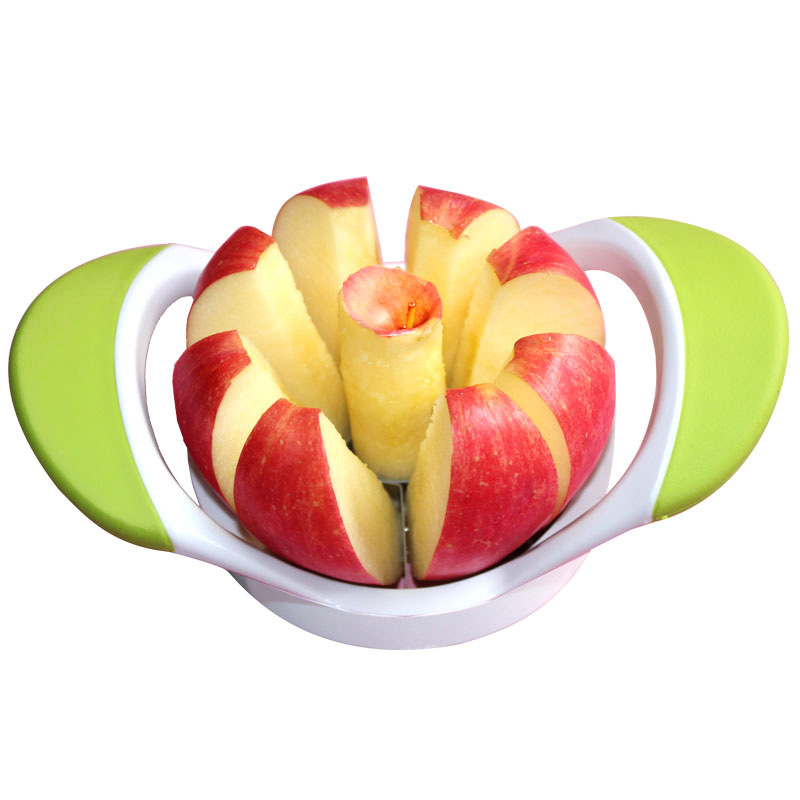 Direct Selling Creative Practical Fruit Slicer Hand Pressure Apple Corer Durable Stainless Steel Fruit Cutter Fruit Separation G