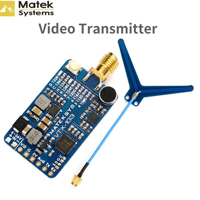 Mateks видео передатчик 1,2/1,3 GHZ VTX 1G3 9 FPV видео передатчик для RC Дрон очки монитор|Детали и аксессуары|   | АлиЭкспресс