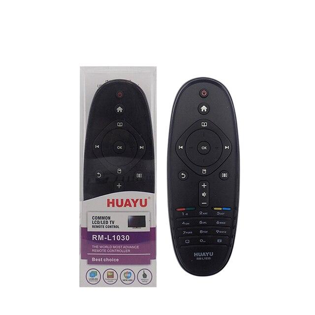 החלפת טלוויזיה שלט רחוק RM L1030 חכם שלט רחוק תואם עבור פיליפס LCD/LED/HD/3D טלוויזיות