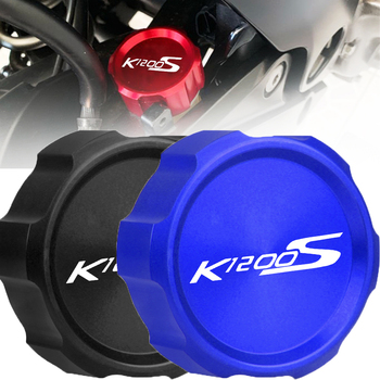 Motorcycle Accessories Rear Brake Fluid Reservoir cover cap For BMW K1200S 2004-2008 2005 2006 2007 2009 K1200 K 1200 S 1200S image