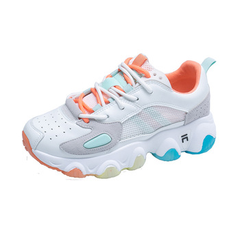 Summer Mesh Sneakers Rainbow Shoes Women's Fashion Casual All-match Running Shoes Luxury Shoes Women Designers Woman Sneakers