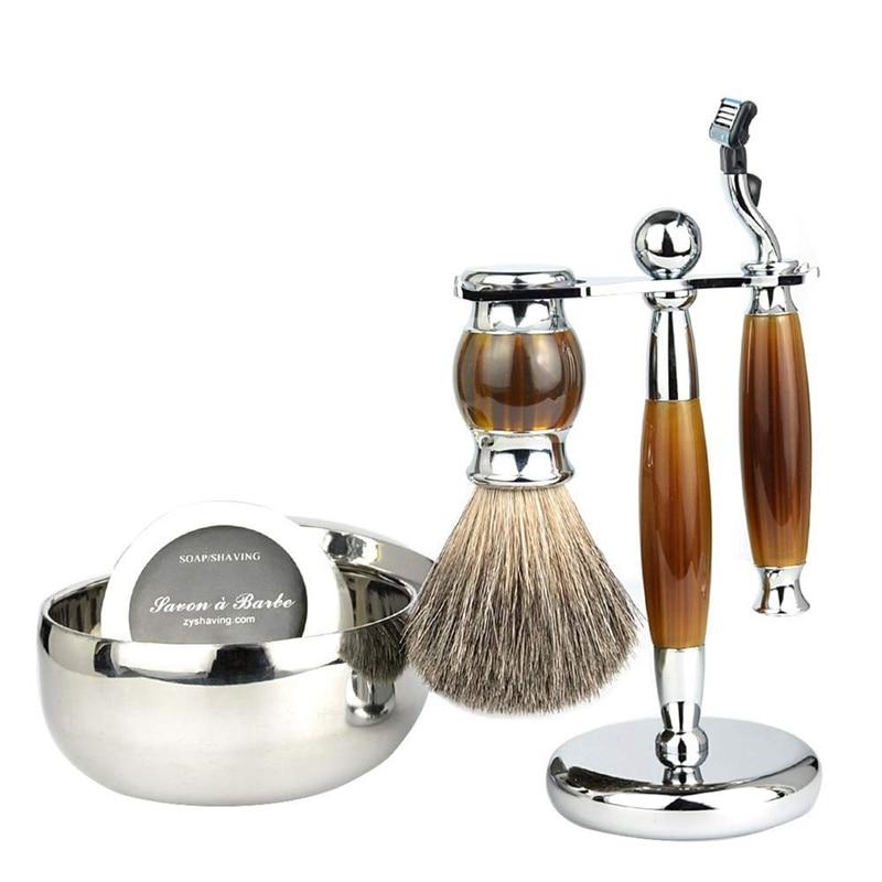 ABVP Мужская Ручная бритва, набор для бритья, качественная бритва, лучший подарок для мужчины