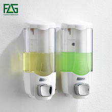 FLG 370ml Liquid Soap Dispenser Wall Mounted Shampooing Soap Dispensers High Quality Manually Hotel Soap Dispenser P268 01W