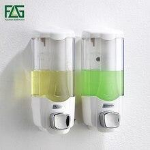 FLG distributeur de savon liquide mural de 370ml, distributeur de savon liquide pour shampoing, haute qualité, manuel pour hôtel, P268 01W