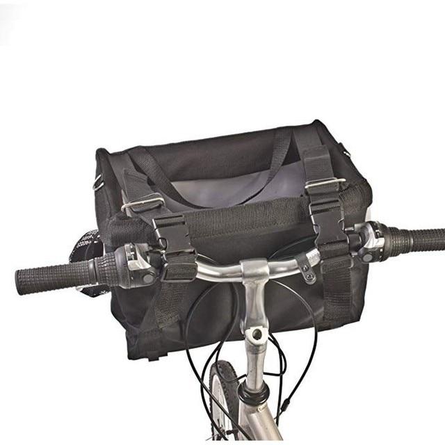 Sac de transport de vélo pour animaux de compagnie, siège de vélo pour chiot, chien, chat, petit Animal, pour randonnée, accessoires de panier de cyclisme 3
