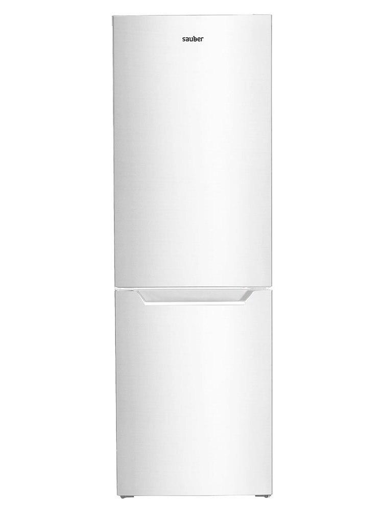 Refrigerator Combi Sauber Sc186B Total Nofrost A + High 185 Cm Wide 60 Cm White