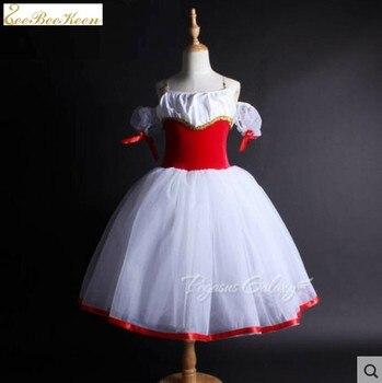 Vestido tutú de Ballet para niños Leotardos de Ballet para mujeres vestido de baile de bailarina Hada bailarina disfraz de fiesta de graduación para niñas