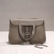 цена на Genuine Leather Litchi Doctor Bag Luxury Design Handbags Female Fashion Shoulder Bags In Women's Totes Crossbody Bags For Women