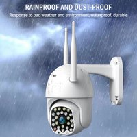 1080P PTZ IP Camera Wifi Outdoor Wireless Wifi Security Camera Dual Light Source 3.6MM 23 Led Sound And Light Alarm