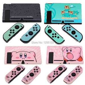Image 1 - DIY Plastic Protective Decel Shell Hard Case Cover For Nintend Switch Game Console Protector for Nintendoswith Joycon Controller