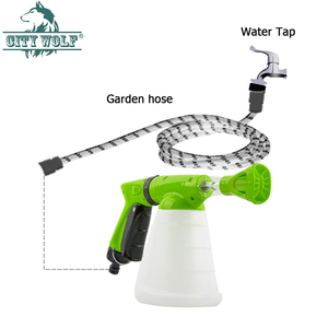 Image 5 - CIty wolf household  high presure washer soap foam gun garden water nozzle car wash soap watering  connect with the water tap