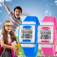 Chic Sports Student Pupil Boy Girl Alarm Week Date Display Digital Wrist