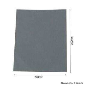 Image 4 - 5 חתיכות נייר זכוכית סט 2000 2500 3000 5000 7000 Grit מלטש נייר מים/יבש שוחק SandPapers
