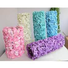 Carpet type Hydrangea DIY wedding Setting wall decoration Road led flower T stage decorative Photo background(China)