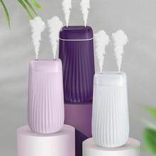 Humidificador de aire 1000ML ultrasónico doble boquilla difusor de Aroma LED fabricante de niebla de luz para el hogar Oficina Humidificador de coche