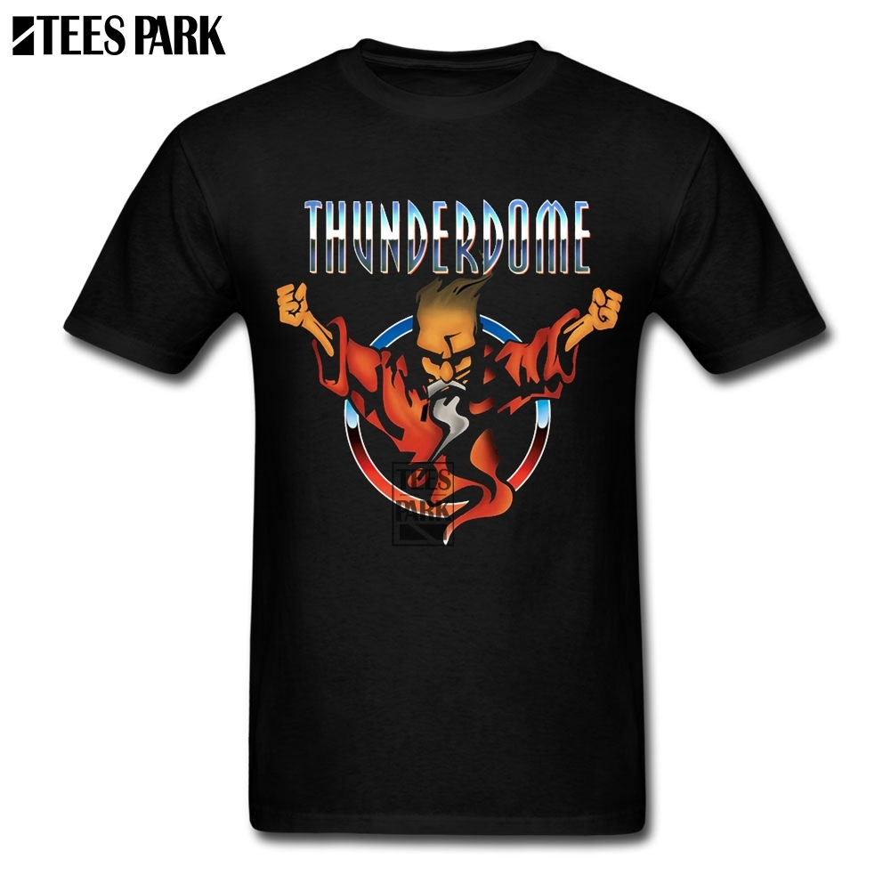 Free Shipping Tee Shirt Thunderdome Funny T Shirts Men's O-Neck Short Sleeve T Shirt Popular Men's Cheap Real Popular Tee